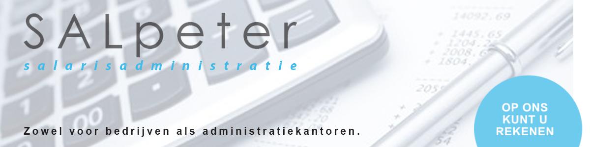 Banner van SALpeter lonen